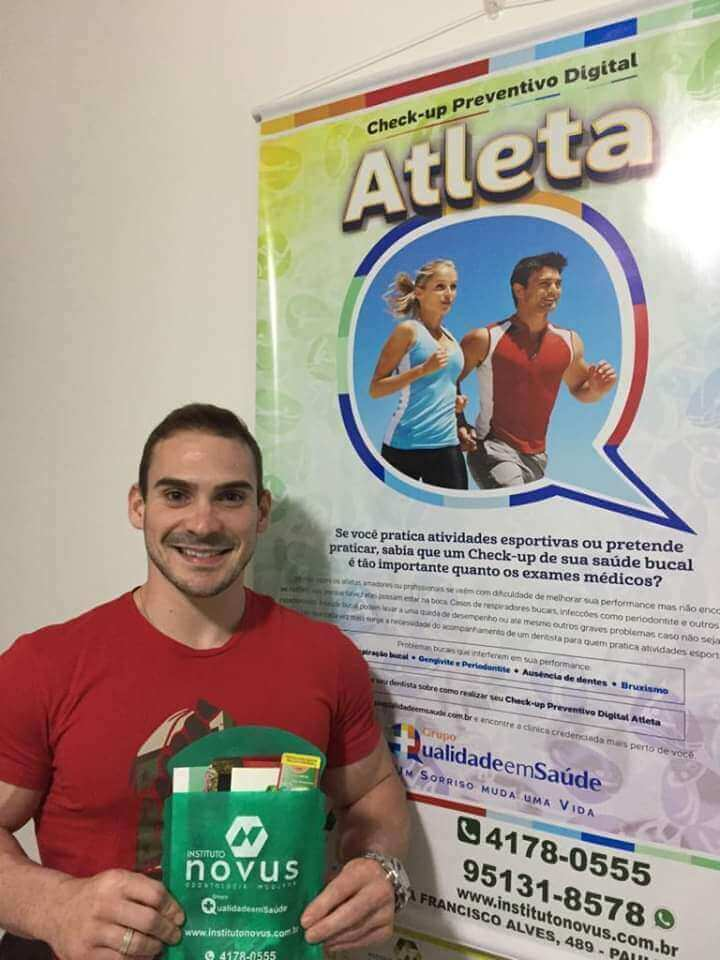 Arthur Zanetti, realiza periodicamente conosco seu Check-up Preventivo Digital